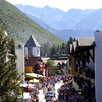 Vail America Days parade through Vail Village