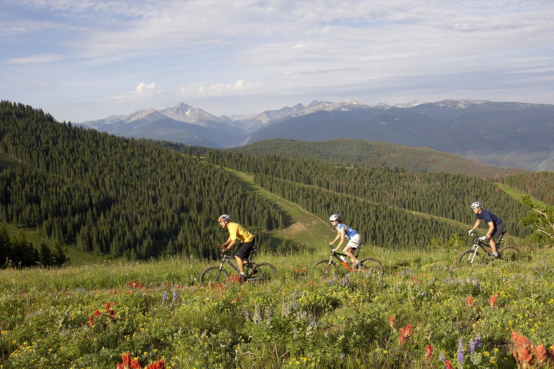 mountain biking rockies