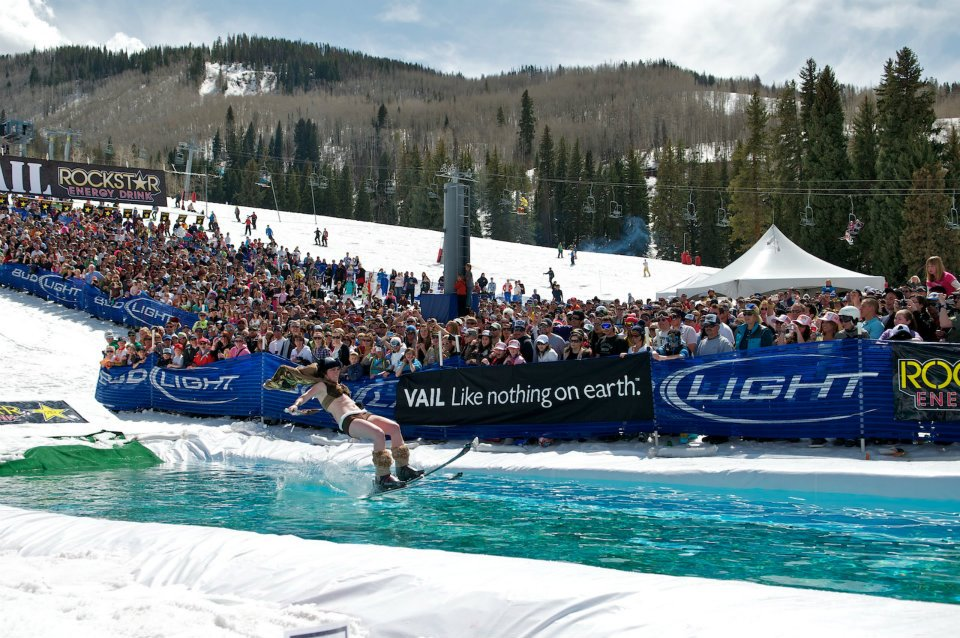 Spring Back to Vail pond skimming