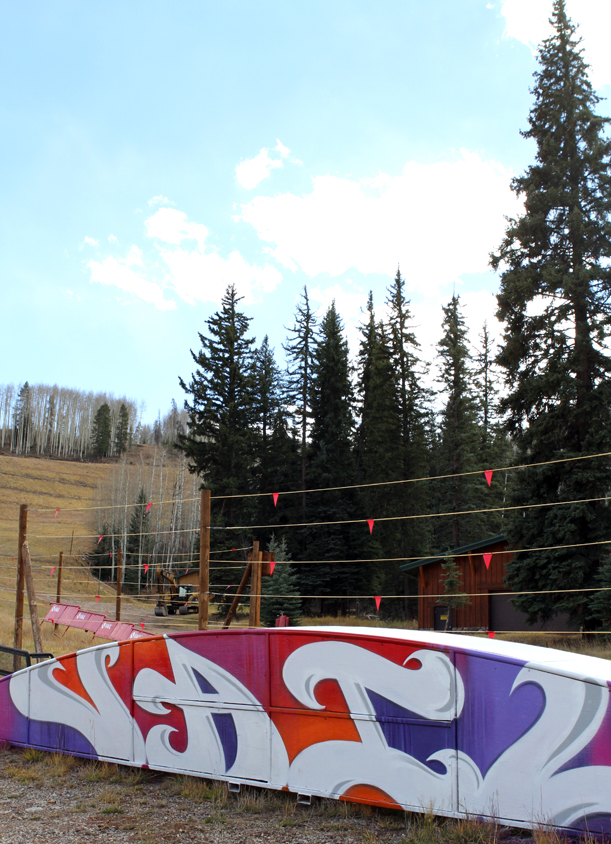 Vail terrain park feature