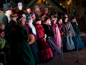 Carolers Vail HoliDaze