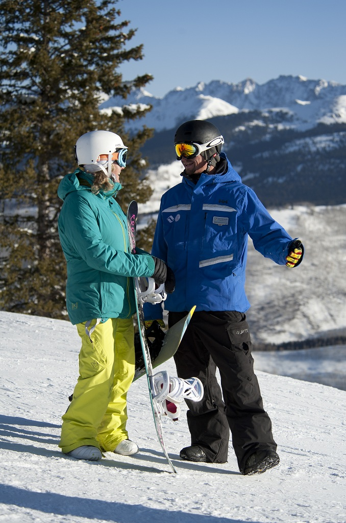 Vail Snowboard instructor