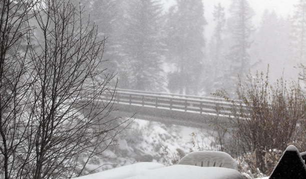 Snowing in Vail