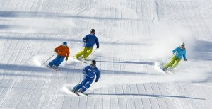 Adult advanced ski lesson