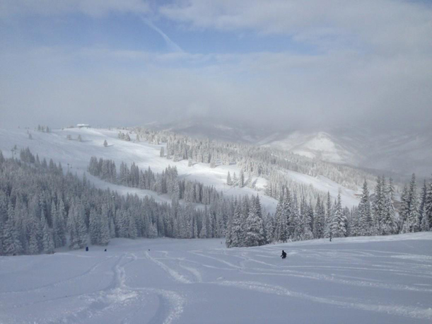 On the hill Vail snow report