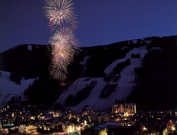 New year's eve fireworks vail