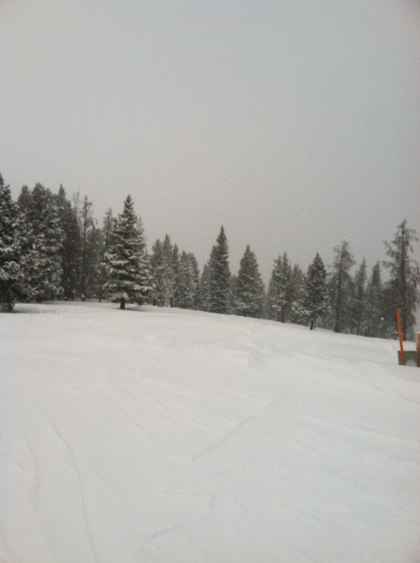 Conditions at Vail Mountain