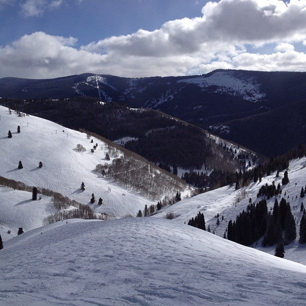 Vail skiing conditions