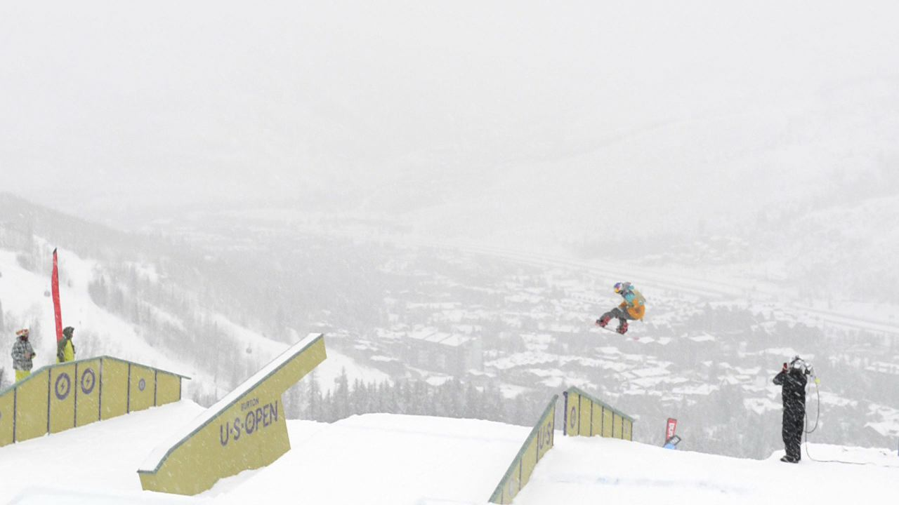 Torstein Horgmo at the Burton US Open in Vail, CO