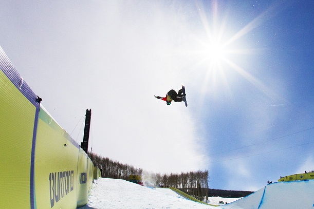 Scotty Lago at the Burton US Open