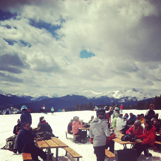 Picnic on Vail Mountain