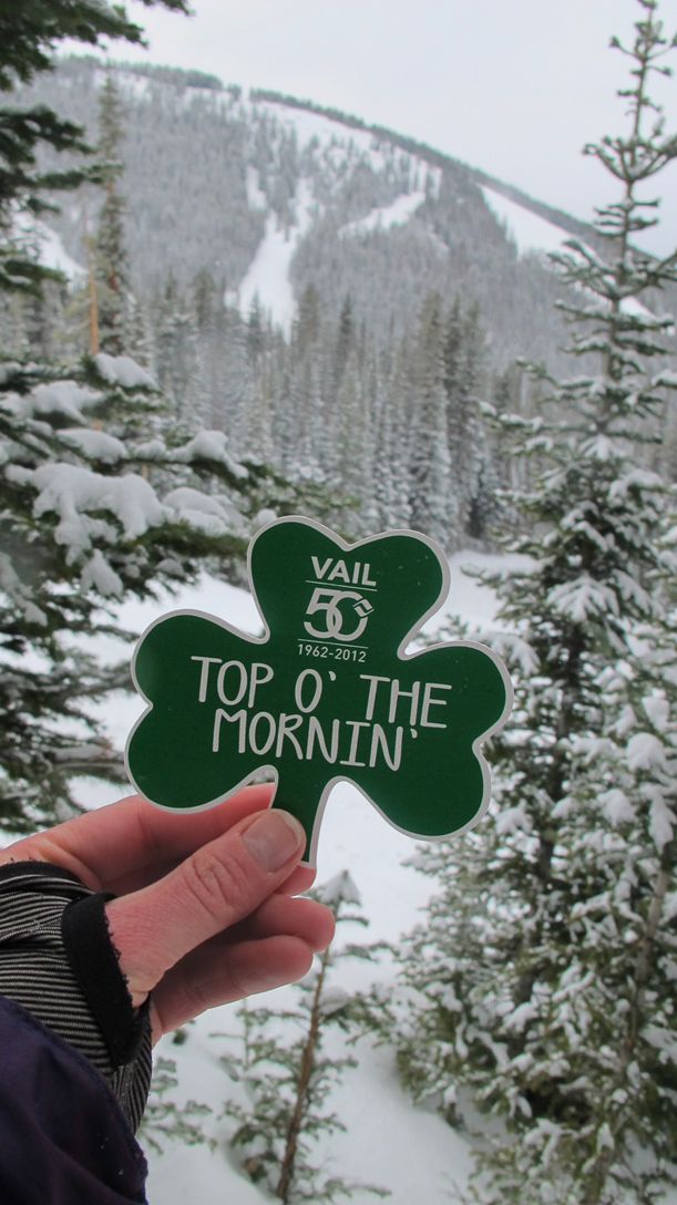 St Patrick's Day Vail