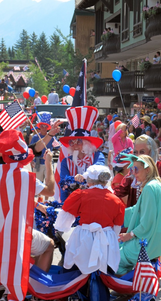 4th of July celebrations in Vail, Colorado