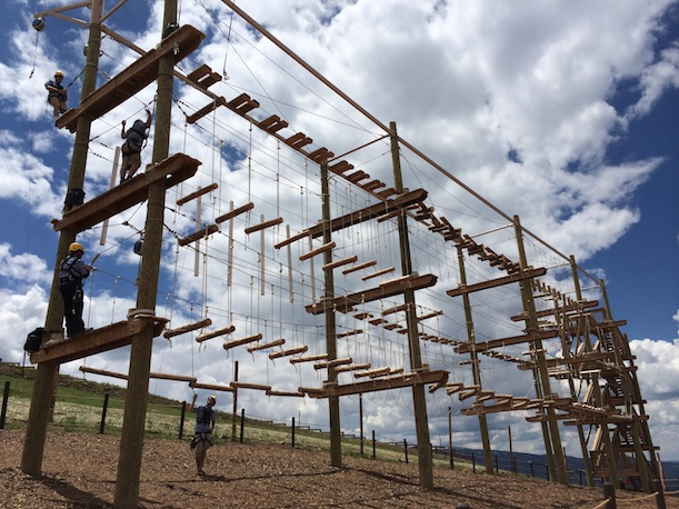 Adventure Ridge South Ropes Course blog