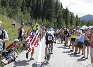 Vail pass bike path time trial