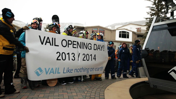 Vail Opening Day Gondola One