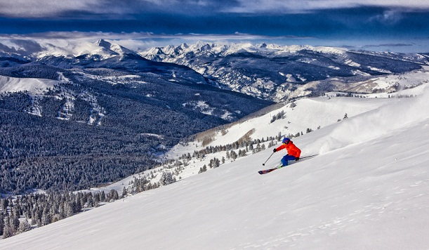 Best time to ski in Vail