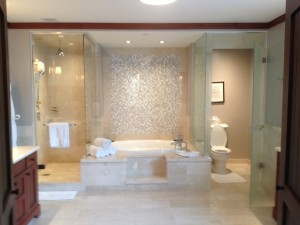 My bathroom at the Four Seasons.