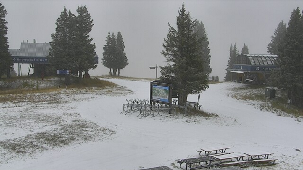 snow at vail buffalo's webcam